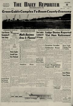 Dover Daily Reporter, June 15, 1964, Page 1