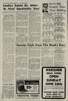Dover Daily Reporter, June 27, 1964, Page 2