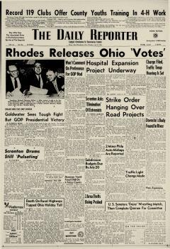 Dover Daily Reporter, July 09, 1964, Page 1