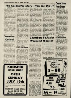 Dover Daily Reporter, July 18, 1964, p. 2
