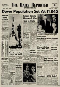 Dover Daily Reporter, July 29, 1964, Page 1
