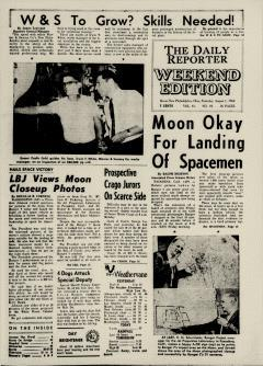 Dover Daily Reporter, August 01, 1964, Page 1