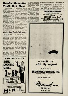 Dover Daily Reporter, August 08, 1964, Page 3