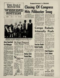 Dover Daily Reporter, August 15, 1964, Page 1