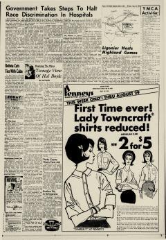 Dover Daily Reporter, August 24, 1964, Page 3