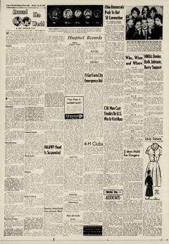Dover Daily Reporter, August 24, 1964, p. 6