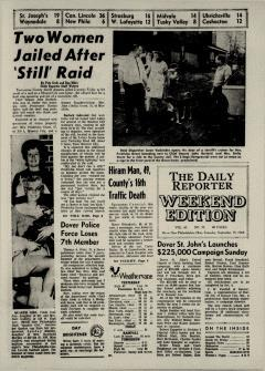Dover Daily Reporter, September 19, 1964, Page 1