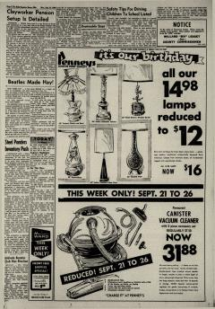 Dover Daily Reporter, September 21, 1964, Page 3
