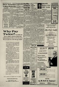 Dover Daily Reporter, October 14, 1964, p. 6
