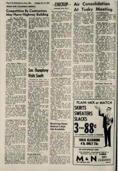 Dover Daily Reporter, October 17, 1964, Page 6