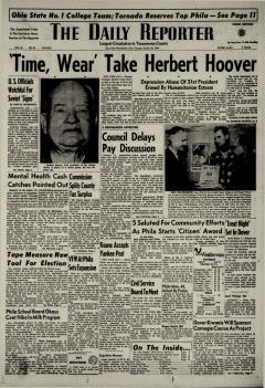 Dover Daily Reporter, October 20, 1964, Page 1
