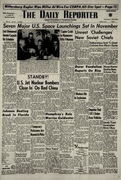 Dover Daily Reporter, October 26, 1964, Page 1