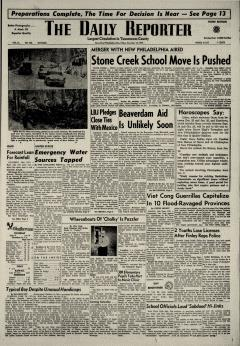 Dover Daily Reporter, November 13, 1964, Page 1