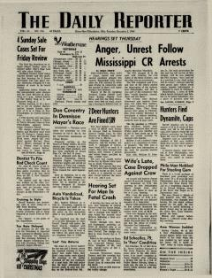 Dover Daily Reporter, December 05, 1964, Page 1