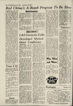 Dover Daily Reporter, December 26, 1964, Page 4
