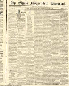 Elyria Independent Democrat, January 27, 1864, Page 1