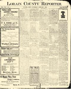Lorain County Reporter, January 01, 1898, Page 1