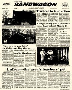 Howland Bandwagon, March 09, 1977, Page 1