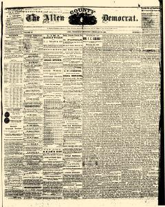 Allen County Democrat, February 20, 1867, Page 1