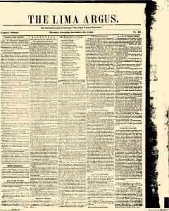 Lima Argus, December 29, 1846, Page 1