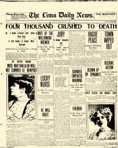 Lima Daily News, June 04, 1907, Page 1