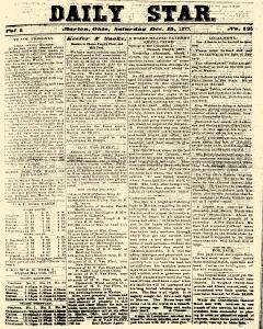 Daily Star, December 15, 1877, Page 1
