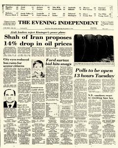 Evening Independent, November 02, 1974, Page 1