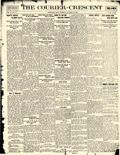 Orrville Courier Crescent, October 28, 1913, Page 1