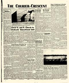 Orrville Crescent, January 22, 1959, Page 1