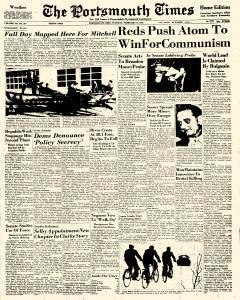 Portsmouth Times, February 21, 1956, Page 1