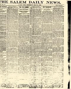 Salem Daily News, May 15, 1890, Page 1