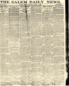 Salem Daily News, May 17, 1890, Page 1