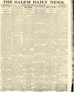 Salem Daily News, August 18, 1890, Page 1