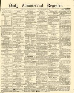 Daily Commercial Register, March 29, 1853, Page 1