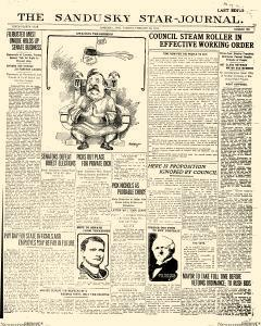 Sandusky Star Journal, February 28, 1911, Page 1