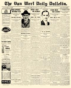 Van Wert Daily Bulletin, January 17, 1920, Page 1