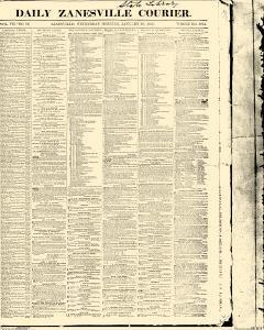 Zanesville Daily Courier, January 19, 1853, Page 1