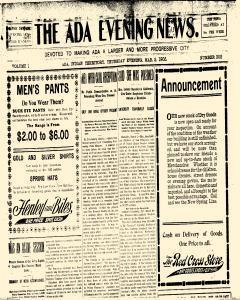 Ada Evening News, March 02, 1905, Page 5