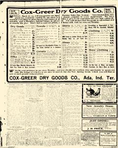 Ada Evening News, March 13, 1905, Page 1