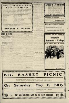 Ada Evening News, May 06, 1905, Page 4
