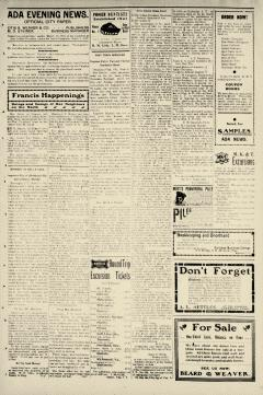 Ada Evening News, June 19, 1905, Page 3