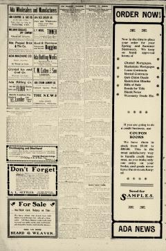 Ada Evening News, June 27, 1905, Page 4