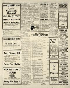 Ada Evening News, January 09, 1919, Page 3