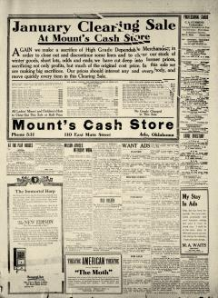 Ada Evening News, January 17, 1919, Page 3