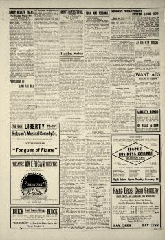 Ada Evening News, February 06, 1919, Page 4