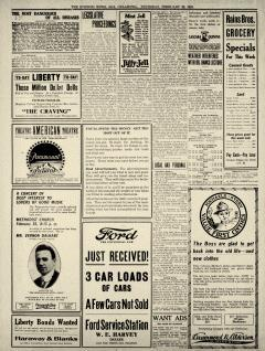 Ada Evening News, February 20, 1919, Page 4