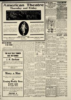 Ada Evening News, March 17, 1919, Page 5