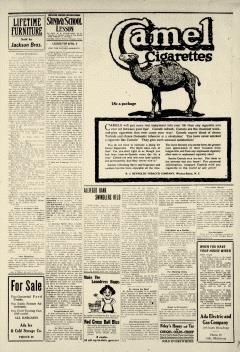Ada Evening News, April 04, 1919, Page 6