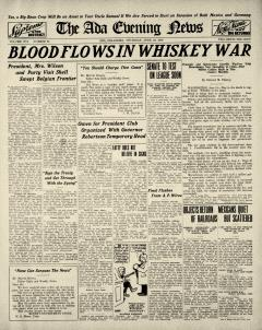 Ada Evening News, June 19, 1919, Page 1