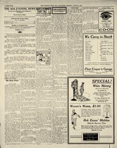Ada Evening News, June 23, 1919, Page 4